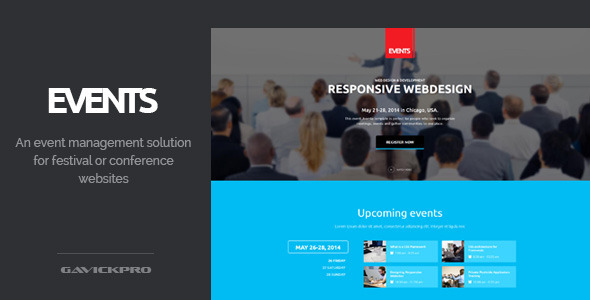 ThemeForest Events Conference and Festival WordPress Theme 8561020