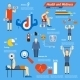 Sport and Fitness Infographics - GraphicRiver Item for Sale