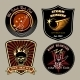 Rock Badges - GraphicRiver Item for Sale