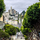The very steep Lombard Street, San Francisco - PhotoDune Item for Sale