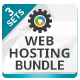 Web Hosting Banner Bundle - 3 Sets - GraphicRiver Item for Sale