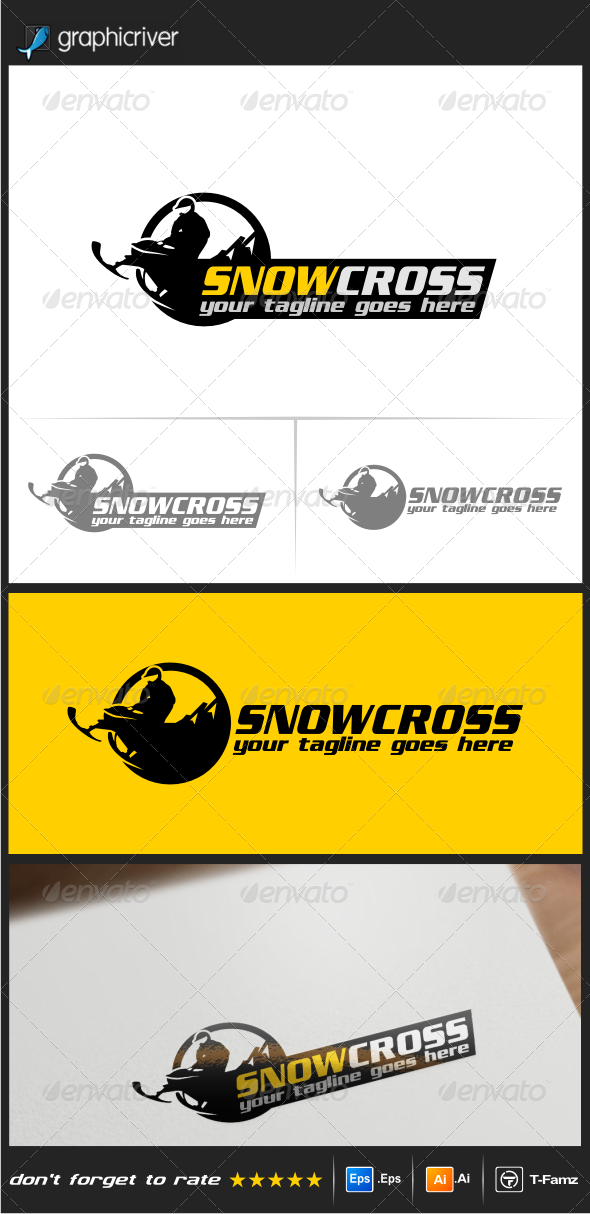 GraphicRiver Snowcross Logo Templates 8561458