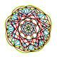 mandala design with vibrant colors - PhotoDune Item for Sale