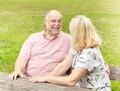 Happy Elderly Couple Relaxing - PhotoDune Item for Sale