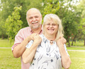 Romantic Senior Couple - PhotoDune Item for Sale