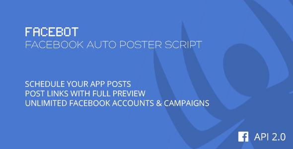 Facebot Facebook Auto Poster Script