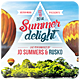 Summer Delight - Flyer - GraphicRiver Item for Sale