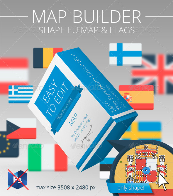 GraphicRiver European Union map builder PP 8562352