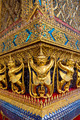 Golden garuda statue at Wat Phra Kaew, Bangkok, Thailand - PhotoDune Item for Sale