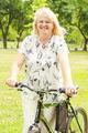 Happy Senior Woman Outdoor - PhotoDune Item for Sale