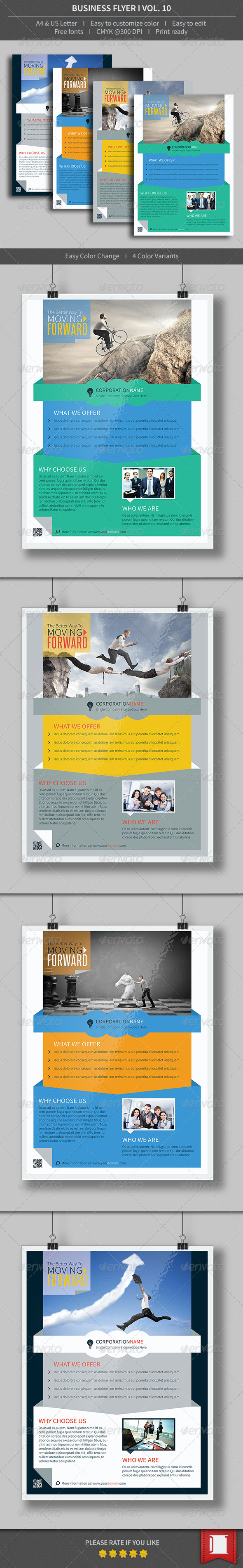 GraphicRiver Business Flyer Volume 10 8562649