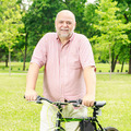 Happy Senior Man Outdoor - PhotoDune Item for Sale
