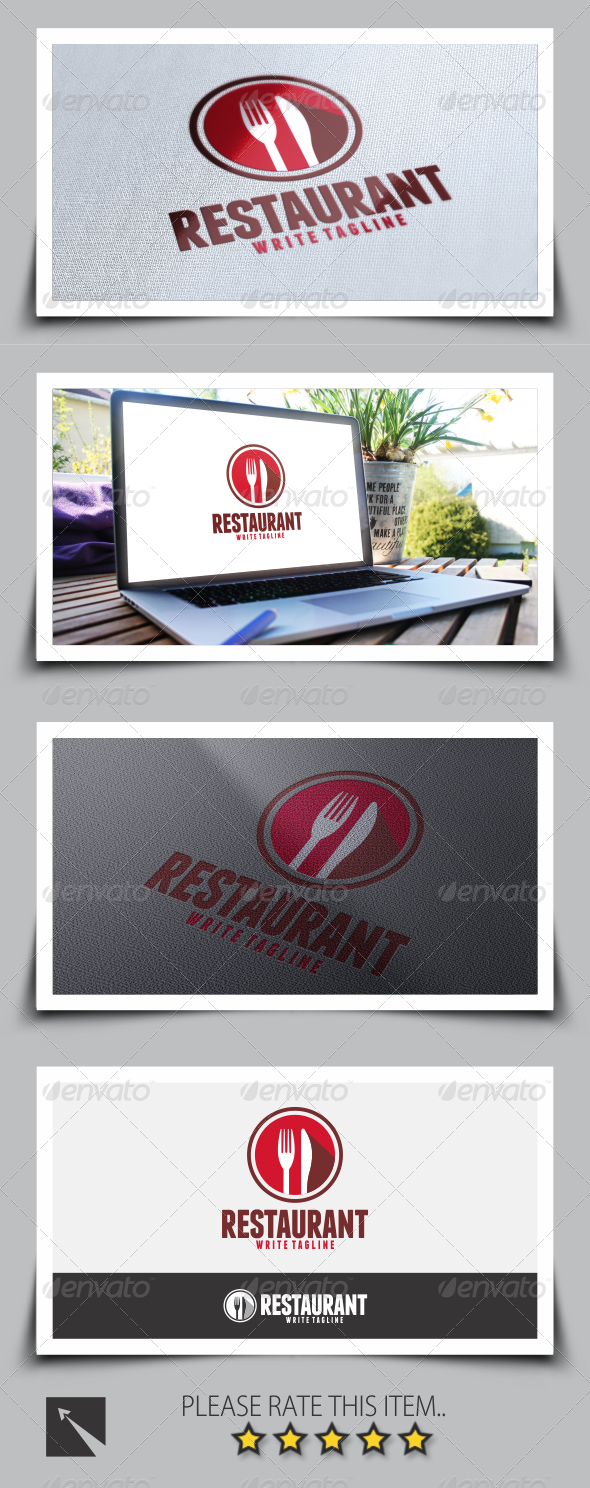 GraphicRiver Restaurant Logo Template 8562799