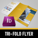 Modern Project Trifold Flyer - GraphicRiver Item for Sale