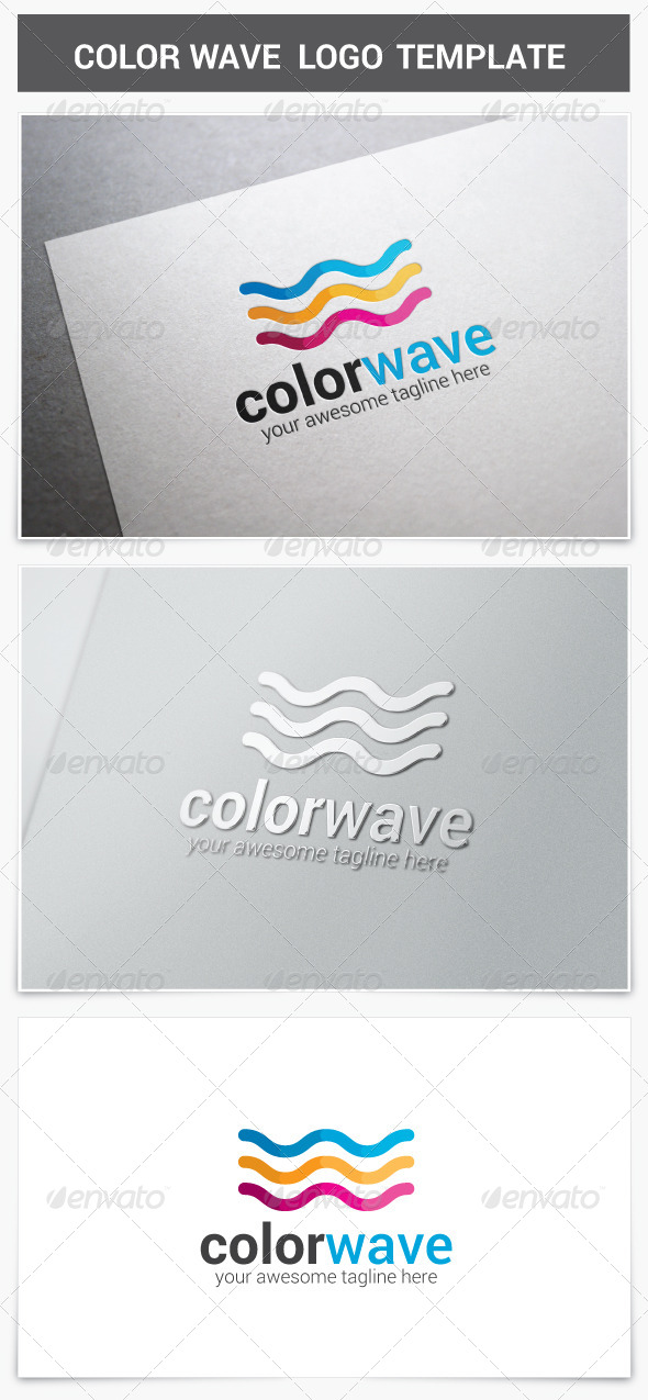 GraphicRiver Color Wave Logo 8562954