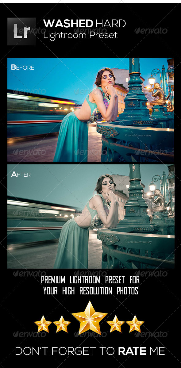 GraphicRiver Washed Hard 8562963