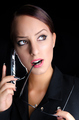 Attractive Woman Talking on Phone - PhotoDune Item for Sale