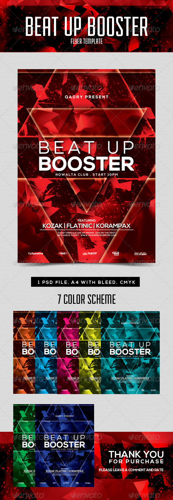 GraphicRiver Beat Up Booster 8563137