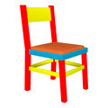 Colorful Child Chair  - PhotoDune Item for Sale