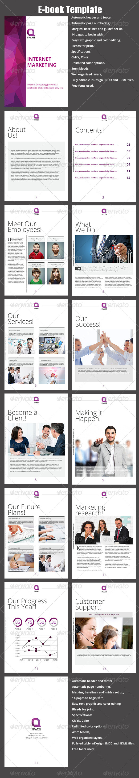 GraphicRiver E-book Template 8563146
