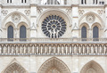 Notre Dame de Paris cathedral facade with statues - PhotoDune Item for Sale