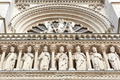 Notre Dame de Paris cathedral facade detail - PhotoDune Item for Sale