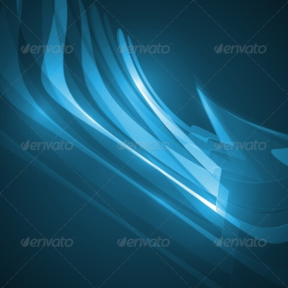 GraphicRiver Abstract Blue Background 8563463