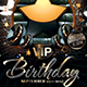 VIP Birthday Party Flyer - GraphicRiver Item for Sale