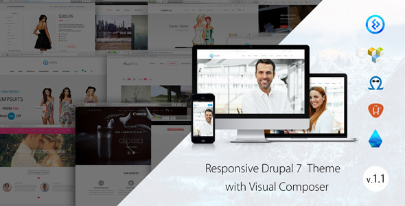 Aura - Responsive multipurpose theme - Miscellaneous Drupal