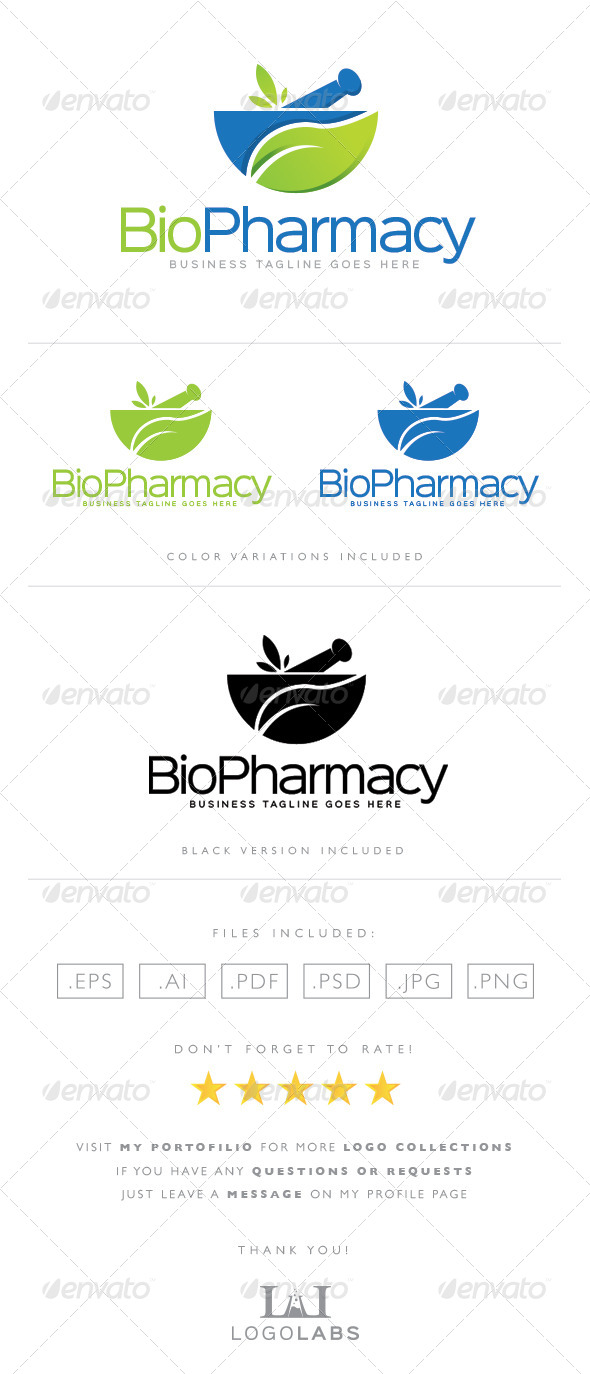GraphicRiver Pharmacy Logo 8563930