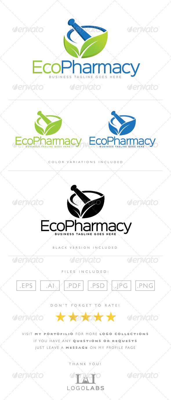 GraphicRiver Pharmacy Logo 8563941