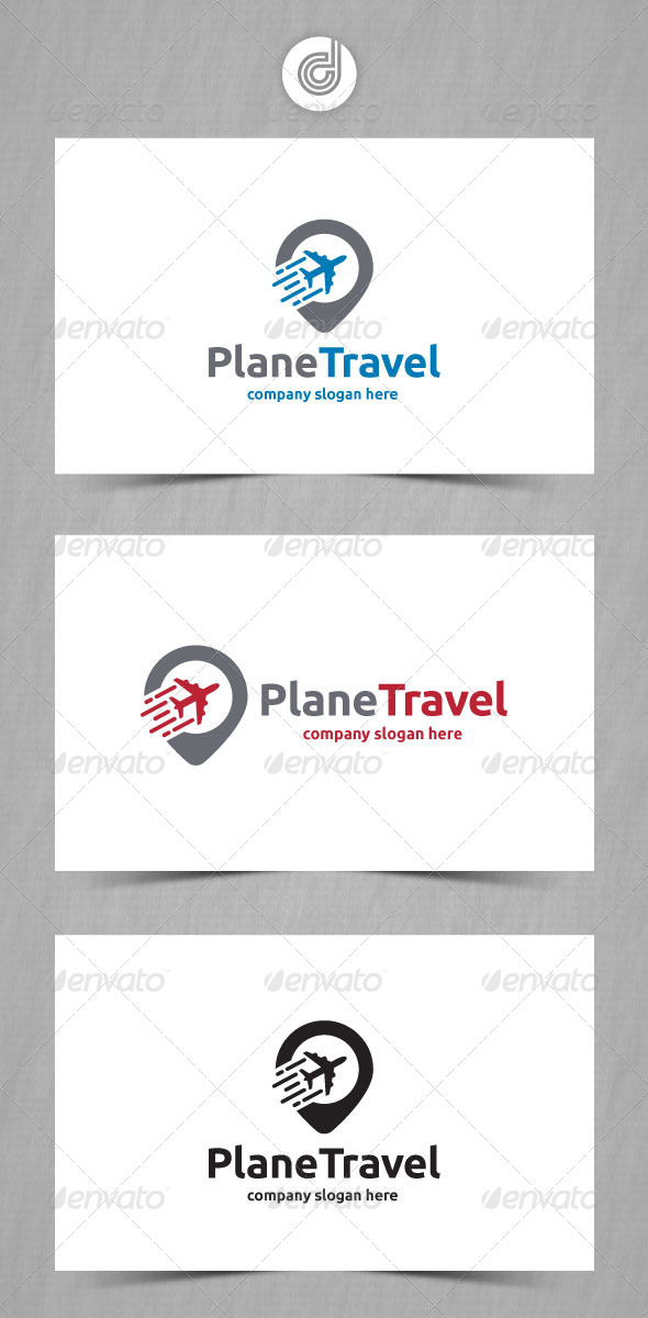 GraphicRiver Plane Travel 8563981