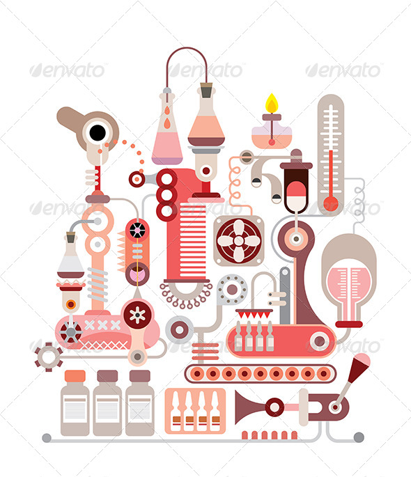 GraphicRiver Chemical Laboratory 8563982