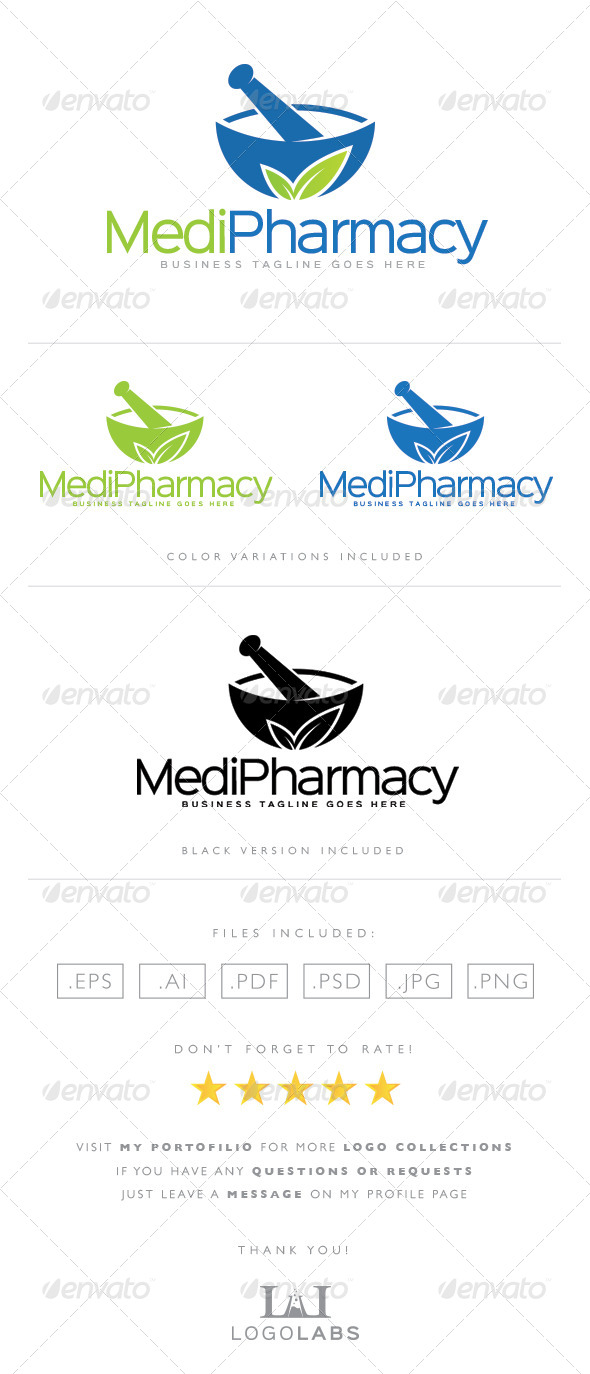 GraphicRiver Pharmacy Logo 8563999