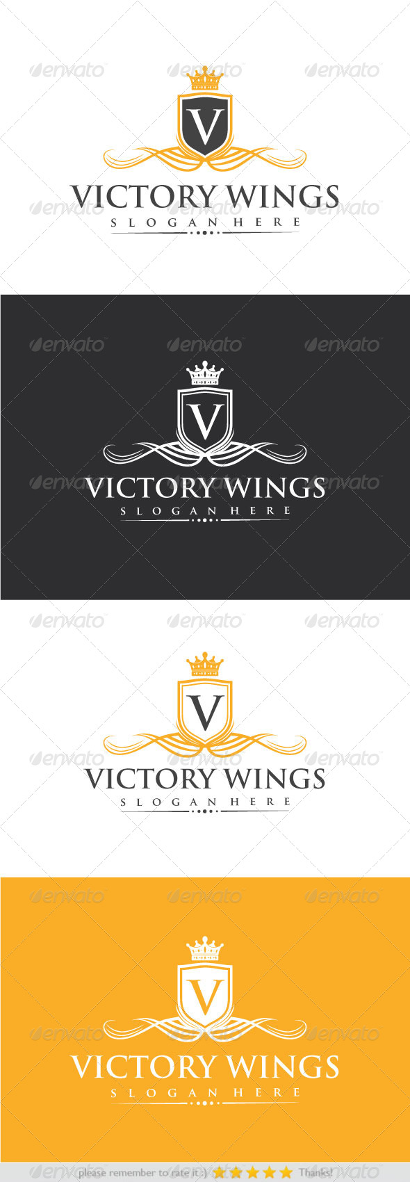 GraphicRiver Victory Wings 8564113
