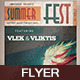 Summer Fest V4 - GraphicRiver Item for Sale