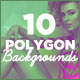 10 Subtle Polygon Backgrounds - GraphicRiver Item for Sale