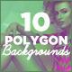10 Subtle Polygon Backgrounds - GraphicRiver Item for Sale
