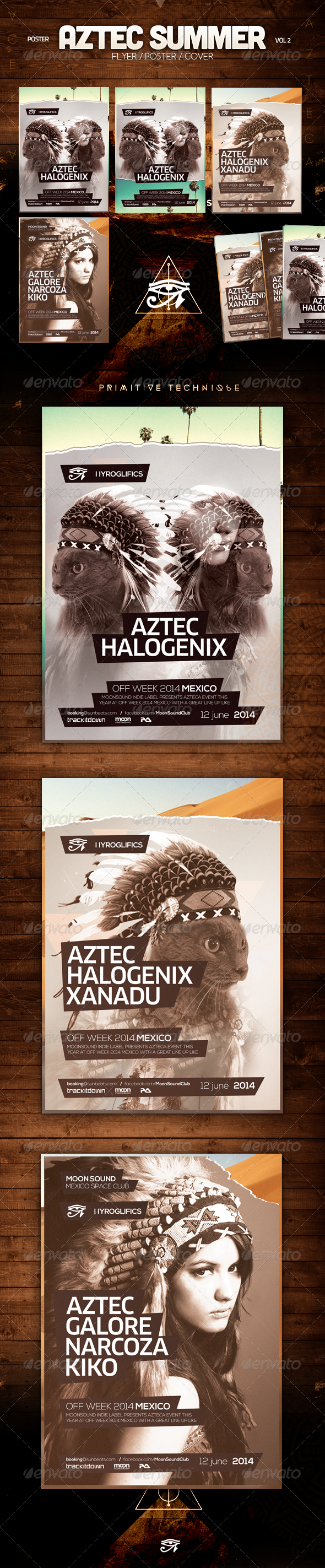 GraphicRiver Aztec Summer Vol 2 8564764