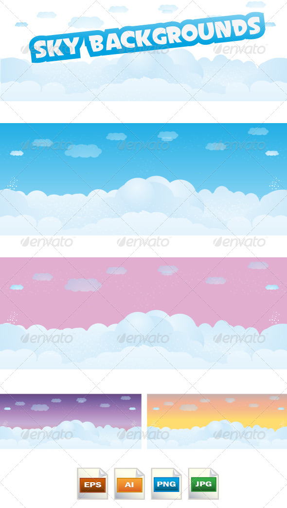 GraphicRiver Sky Backgrounds 8564766