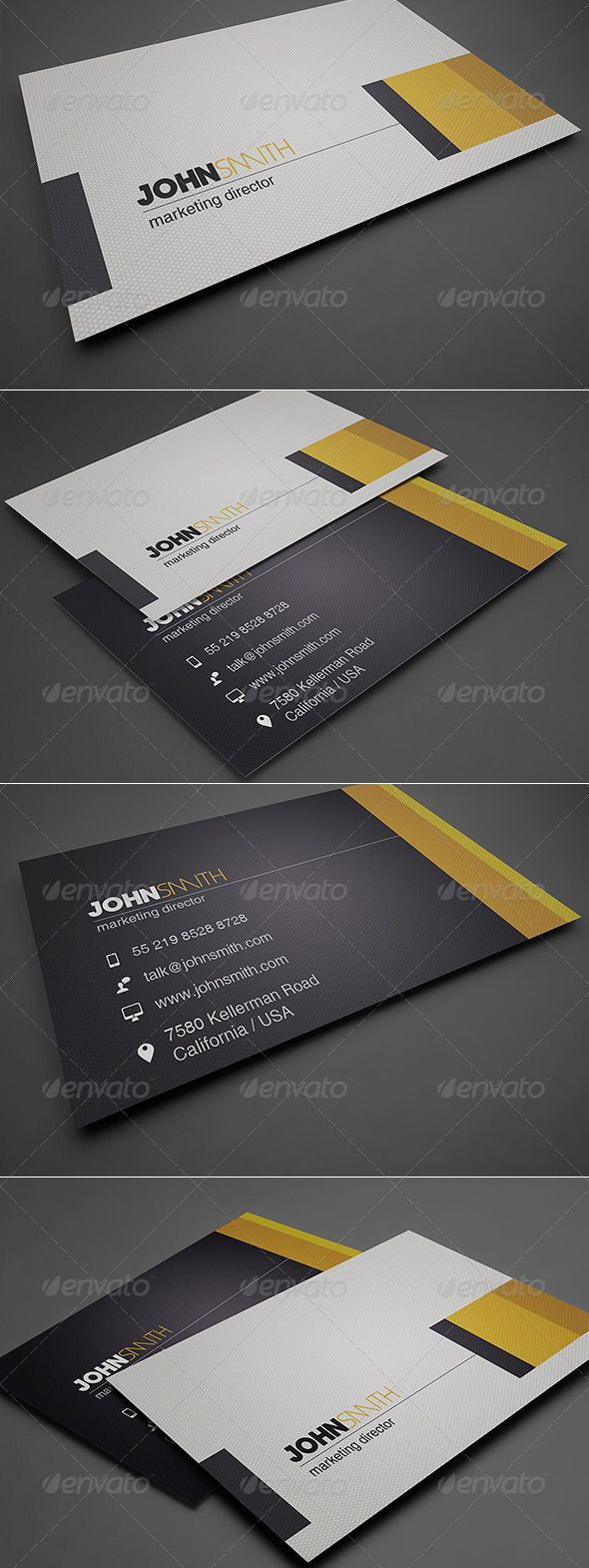 GraphicRiver Simple Business Card 8564794