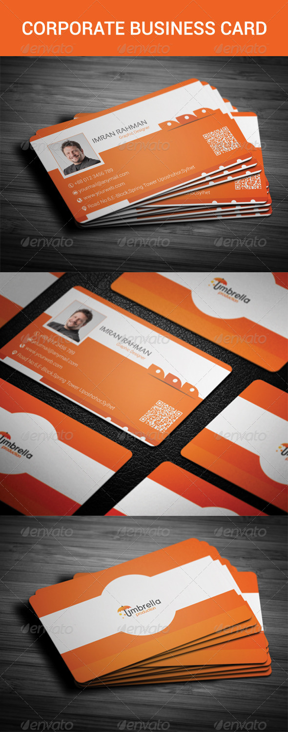 GraphicRiver Corporate Business Card 8564798