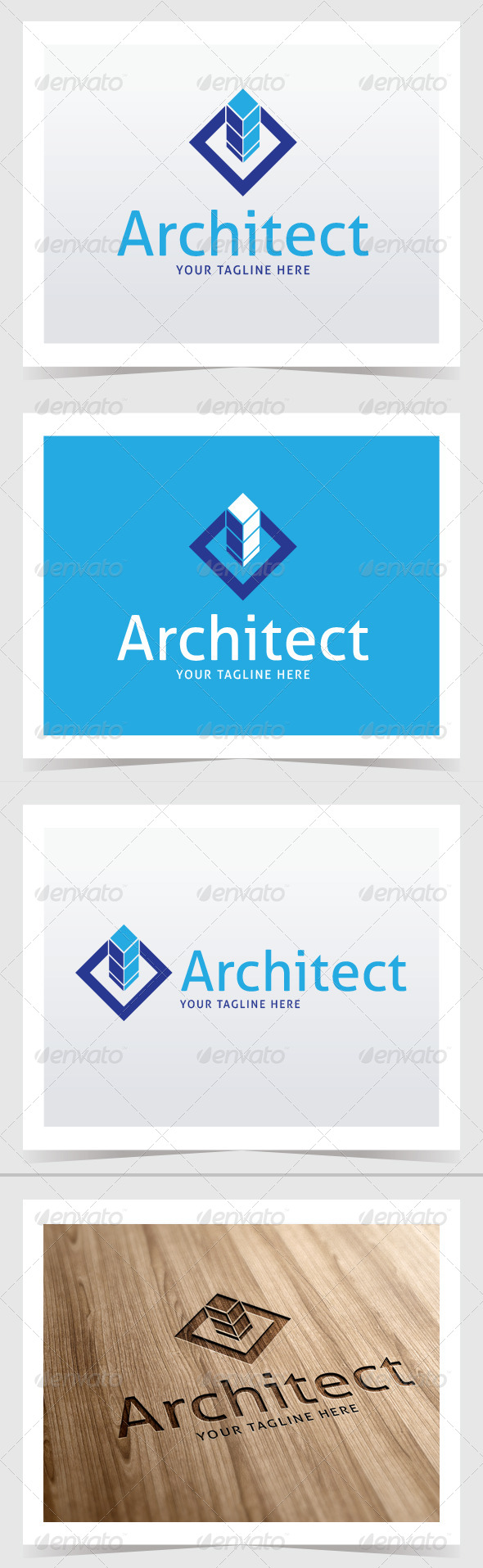 GraphicRiver Architec Logo Template 8564799