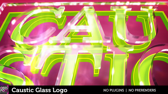 Caustic Glass Logo