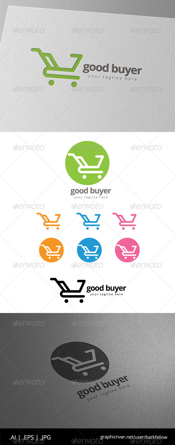 GraphicRiver Buy Shopping Cart Logo 8565080