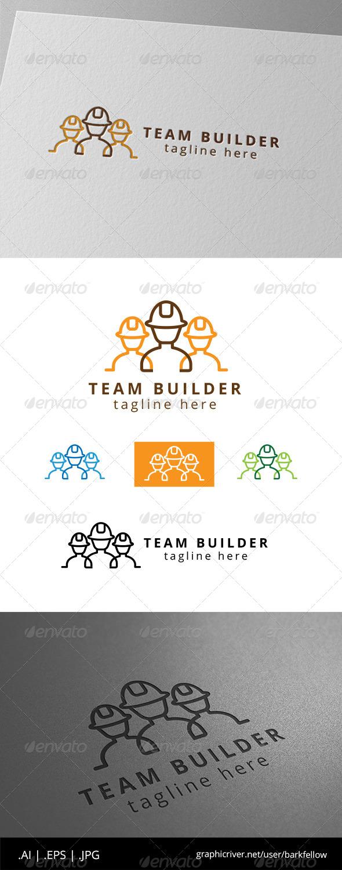 GraphicRiver Team Construction and Builder Logo 8565087