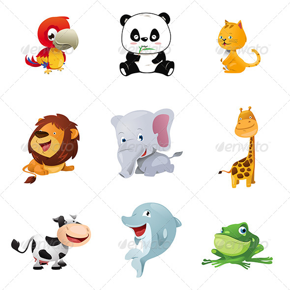 GraphicRiver Animal Icons 8565102