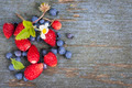 Berries on wood background - PhotoDune Item for Sale
