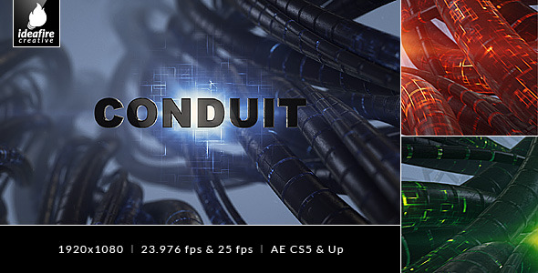 Conduit Element 3D Trailer Titles