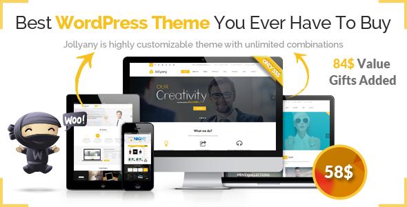ThemeForest Jollyany Corporate Multi Purpose Wordpress Theme 8519120